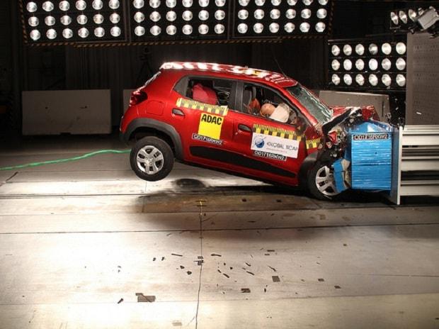 Renault Kwid Crash Test (Source: Ncap)