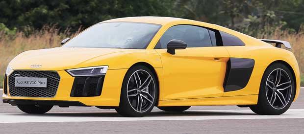 Audi R8: Intelligent sprinter