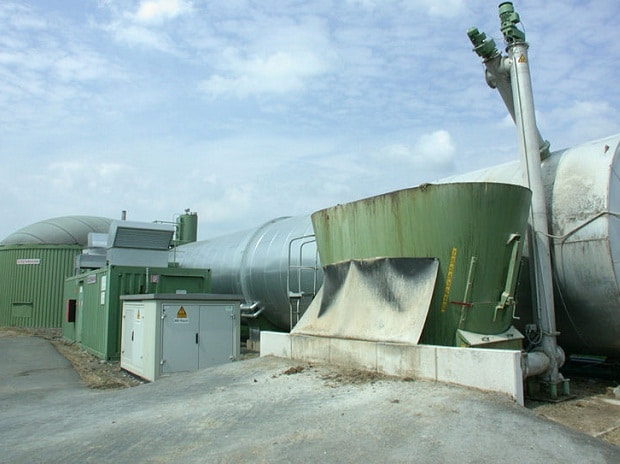 Representative Image of Biogas Plant (Source: Wikipedia)