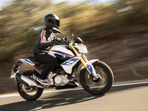 BMW's motorcycle G310R. Photo: Company's website