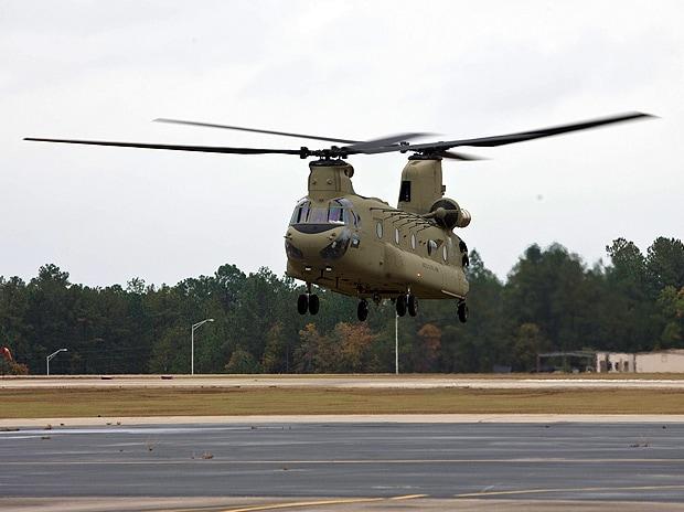 Chinook chopper