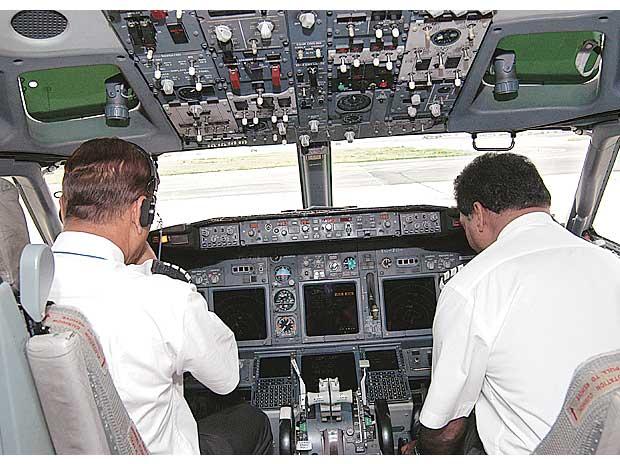 Pilots alcohol test