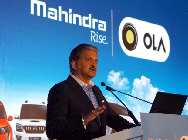 Anand Mahindra, chairman and managing director of Mahindra Group  Photo: Kamlesh Pednekar