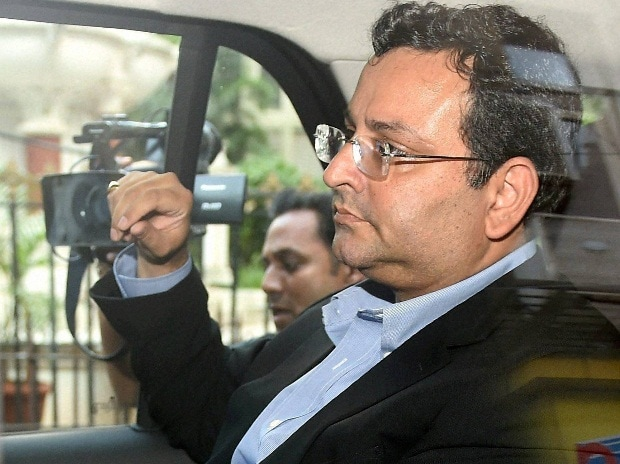 Ousted Chairman of Tata Sons Cyrus Mistry leaves from Bombay House in Mumbai.