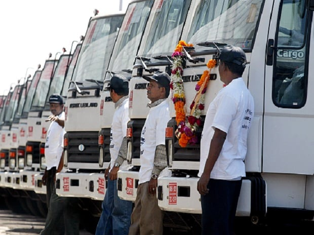 Ashok Leyland November Total Sales