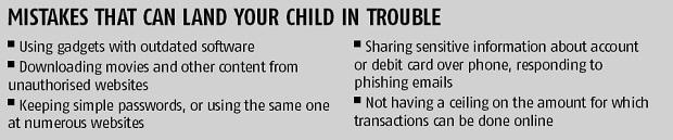 Teach children to transact safely online