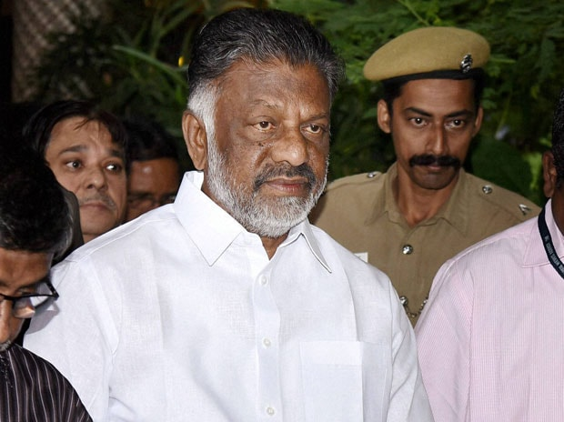 Tamil Nadu Chief Minister O Pannerselvam. Photo: PTI