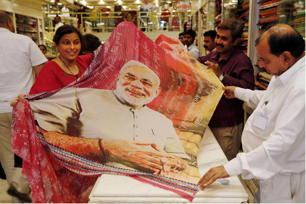Image result for narendra modi sarees