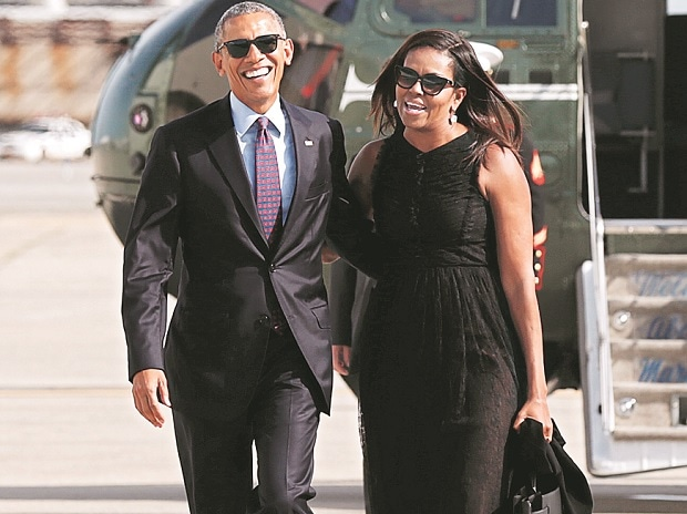 Former US President Barack Obama and Michelle Obama (Photo: Reuters)