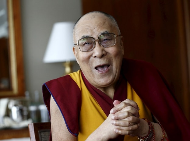 Instead of taking himself too seriously, the 14th Dalai Lama is a joyous, laughing beacon of dissent, both political and spiritual