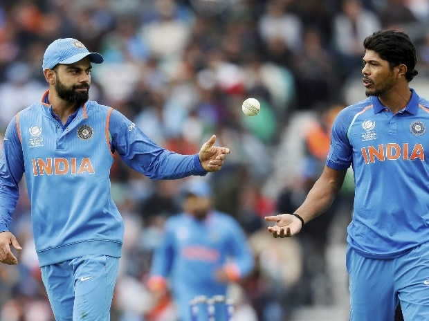 Virat Kohli and Umesh Yadav