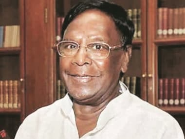 Puducherry Chief Minister V Narayanasamy