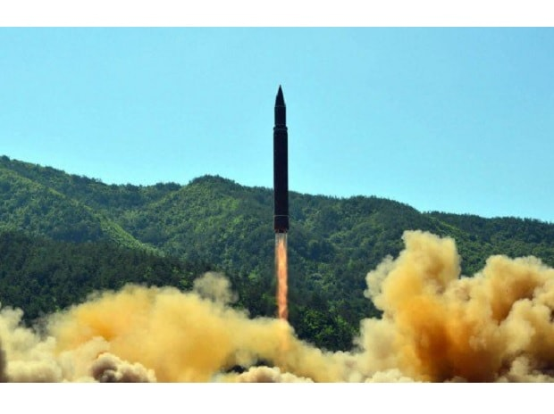 North Korea ballistic missile launch