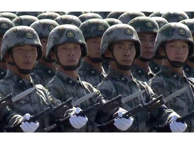 China Army Day parade