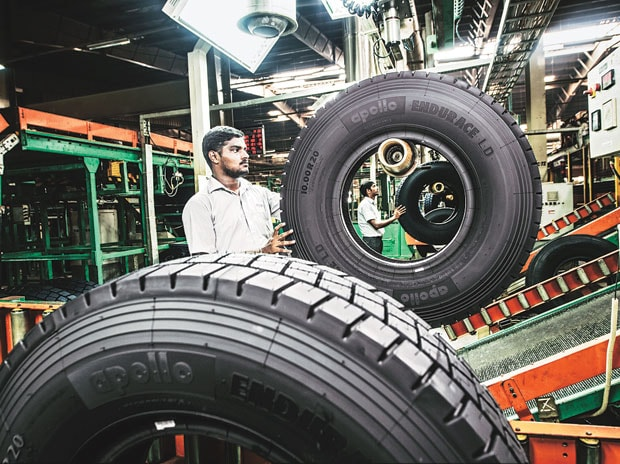 Apollo Tyres Q1 net profit up by 72% to Rs 88.3 crore