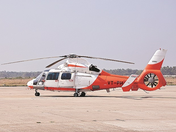 Heli-taxis take wings