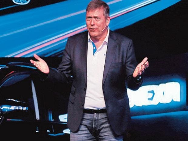 Tata Motors MD Guenter Butschek. Photo: Bloomberg