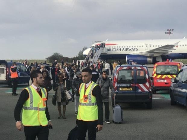 British Airways flight, British Airways