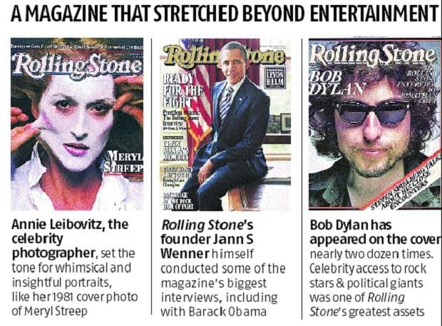 Rolling Stone to be up for sale