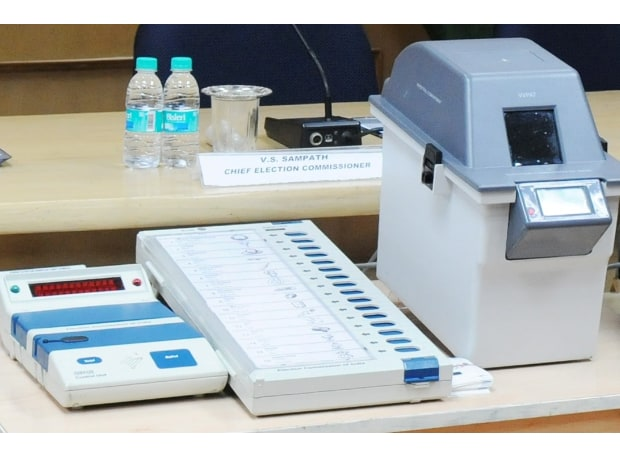 The VVPAT machines, which will be attached to the EVMs, will allow voters to verify if their vote has gone to the intended candidate. (Photo: pib.nic.in)