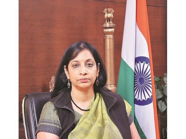 Telecom Secretary Aruna Sundararajan