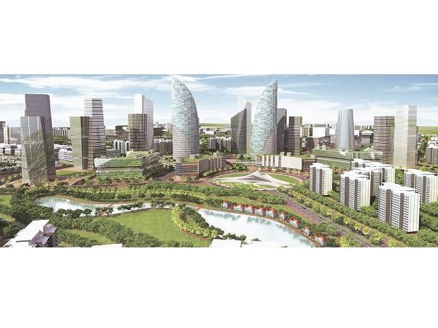 Planners are positioning Amaravati as the blueprint (pictured) for India's next wave of urban investment, as India tries to get ahead of a wave of 300 million rural migrants the United Nations projects will hit its cities by 2050