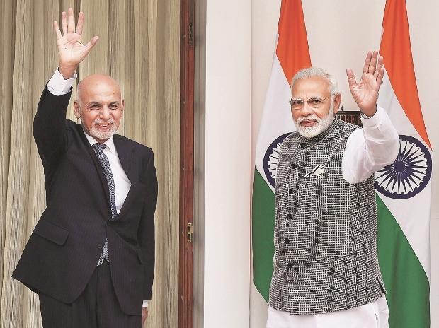 Narendra Modi, Mohammad Ashraf Ghani