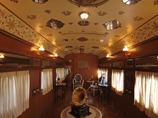 Rail Saloon, interior