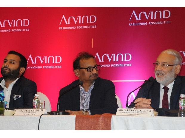 Arvind Ltd, Kulin Lalbhai, Jayesh Shah, Sanjay Lalbhai