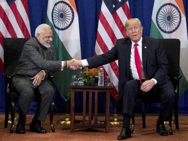 Modi, Trump,