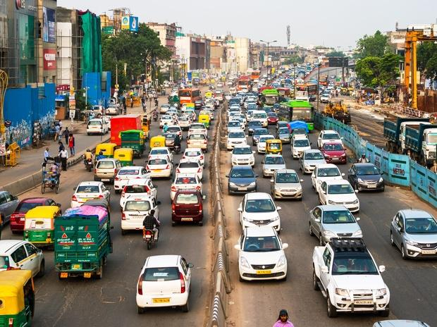traffic, delhi, odd even