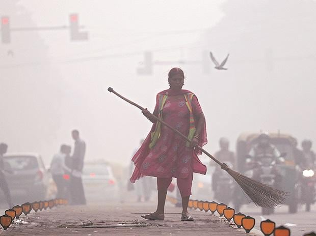 Delhi pollution, delhi smog, air pollution