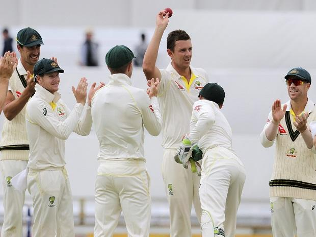 Australia's pacer Josh Hazlewood (File Photo)