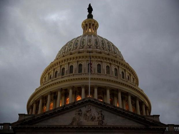 The US Capitol building is lit at dusk ahead of planned votes on tax reform in Washington. File photo: Reuters