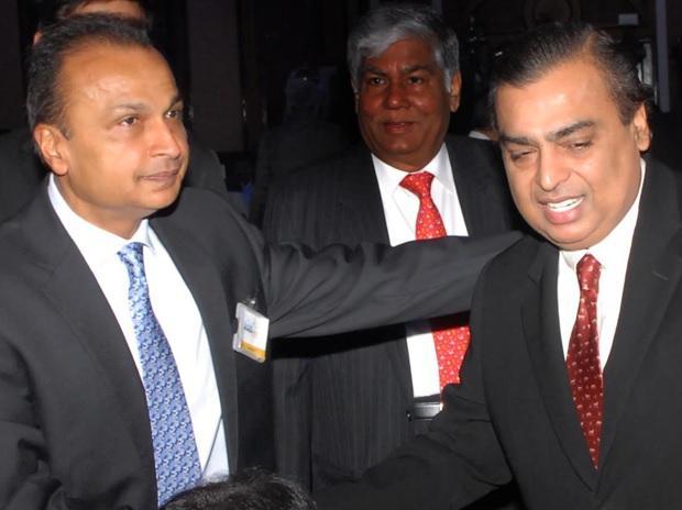File photo of Anil and Mukesh Ambani Picture by Kamlesh Pednekar