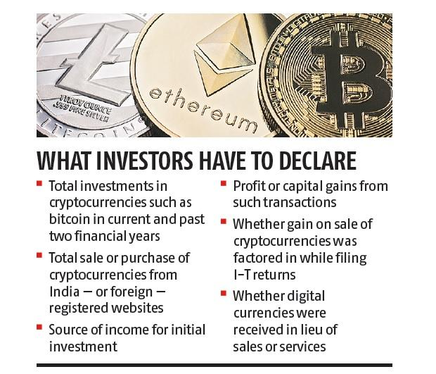 cryptocurrency income tax india