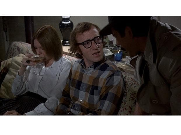 Jerry Lacy, Woody Allen and Diane Keaton in Play It Again, Sam