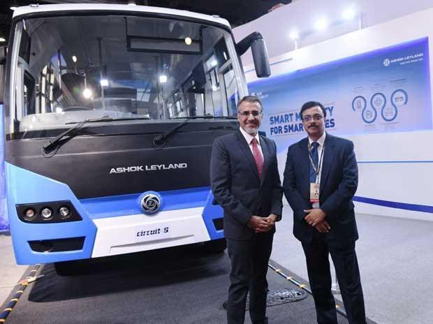 Vinod K Dasari, managing director, Ashok Leyland