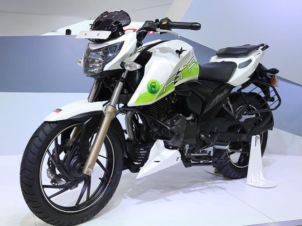 TVS Apache RTR in Auto Show 2018