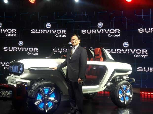 Auto Expo 2018: Maruti showcases electric SUV with autonomous capabilities