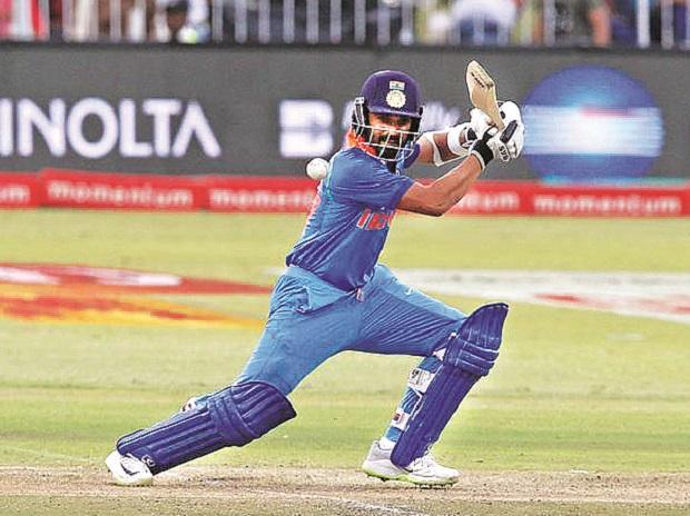 Ajinkya Rahane in action against South Africa. While India's top three have been in fine touch, the middle-order still needs some sorting out
