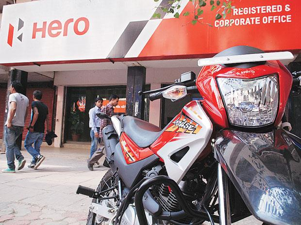 Hero MotoCorp hits 11-week high; stock rallies 5%
