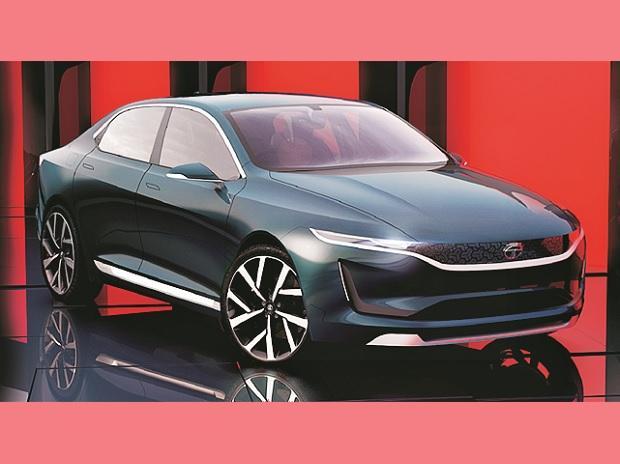 Tata Motors Evision concept car