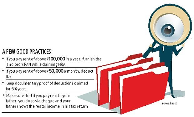 I-T dept warning to salaried taxpayers: Hoodwinking the taxman is difficult