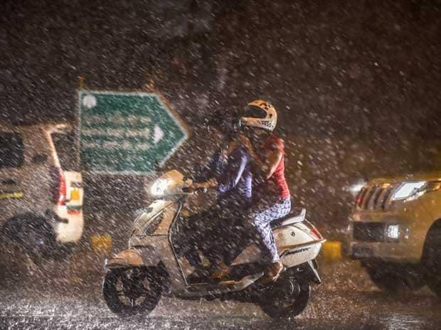 delhi rain, rain, monsoon