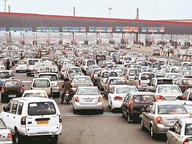 The National Highways Authority of India introduced FASTags that uses radio frequency identification technology and allows cars to pass tolls without stopping for payment