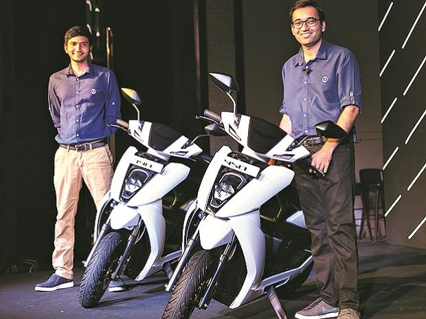 Hero-backed Ather Energy launches its e-scooters starting at Rs