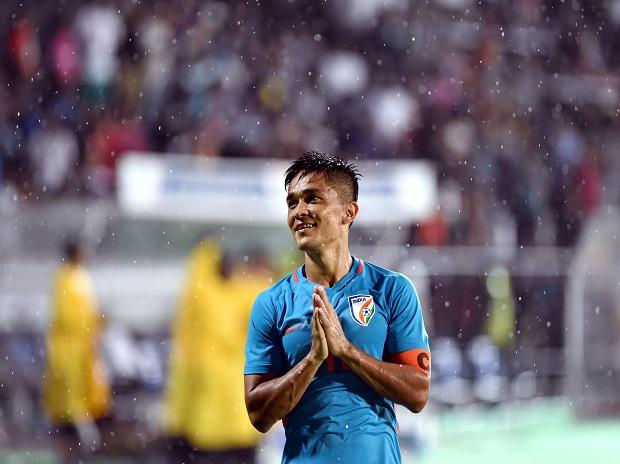 Sunil Chhetri, Indian Football team