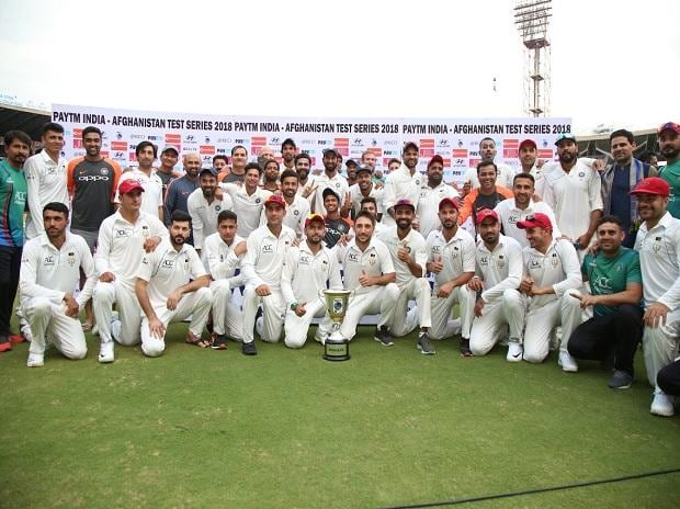 India vs Afghanistan, Afghanistan first test