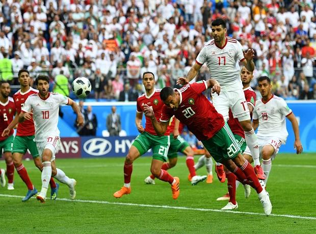 Morocco vs. Iran final score